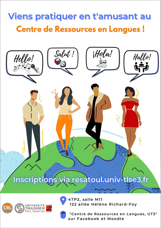 centre de ressources en langues