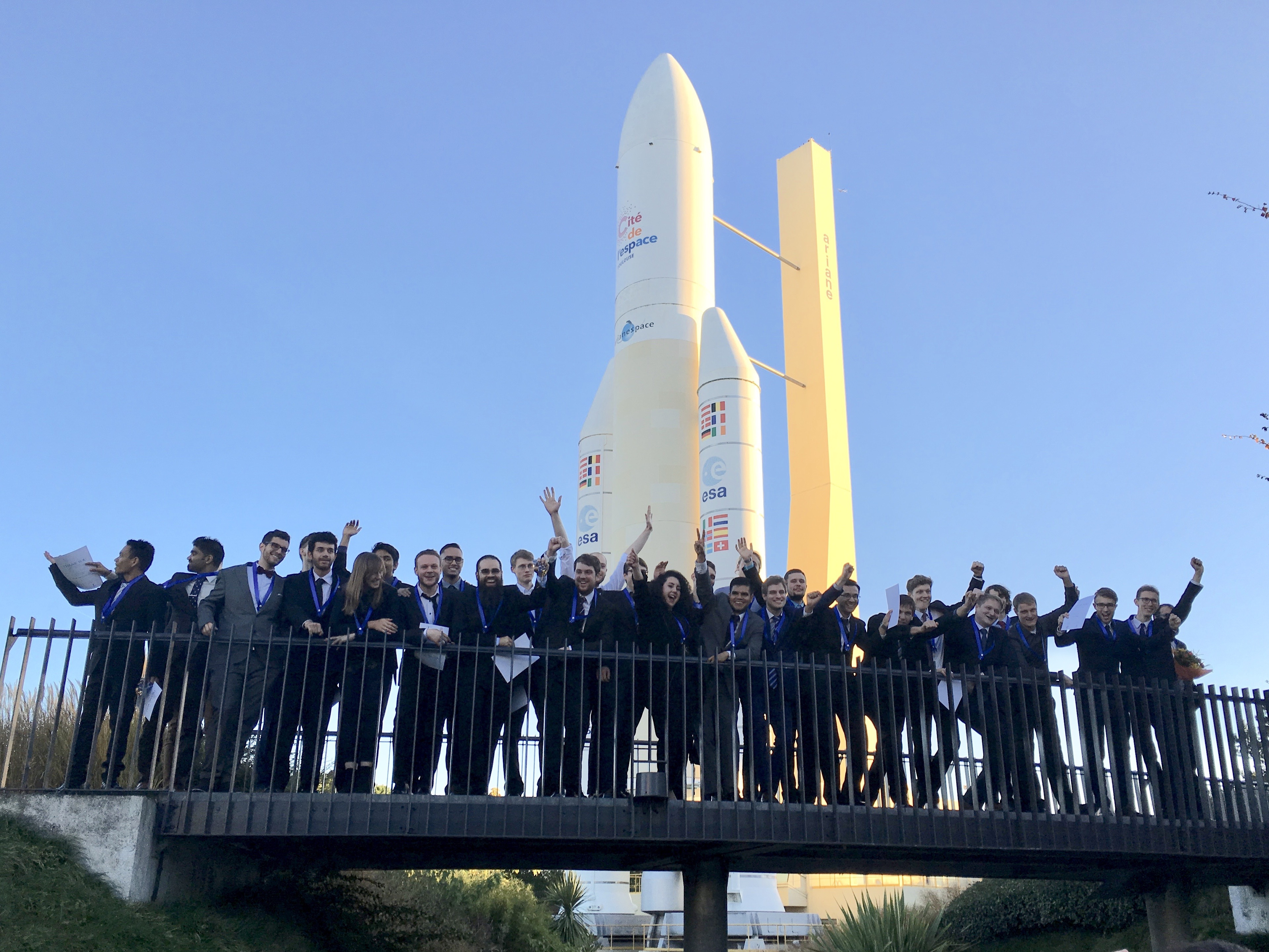 remise des diplomes spacemaster, 28.10.2016