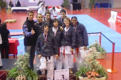 karate medailles