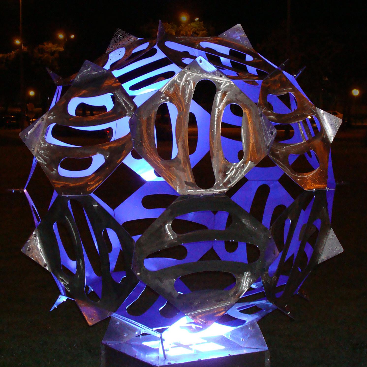 Sphère de Darlan Rosa ©V. Prévost.Serv.CultureUPS